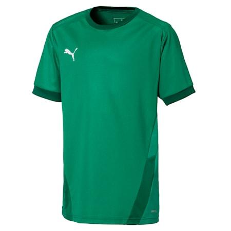 teamGOAL Football Kids' Jersey, Pepper Green-Power Green, small-GBR