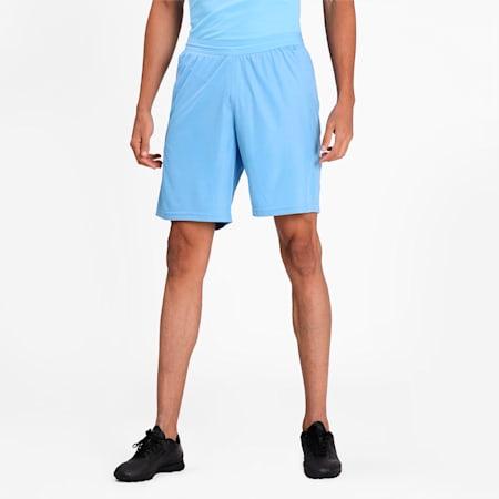 teamFINAL Knit Men's Shorts, Team Light Blue, small-IND