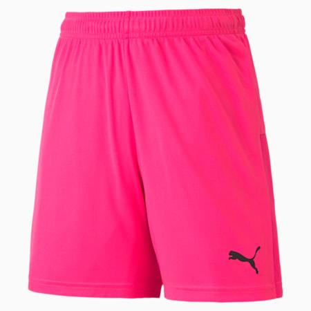 Shorts de punto GOAL para niño, Fluo Pink-Puma Black, pequeño