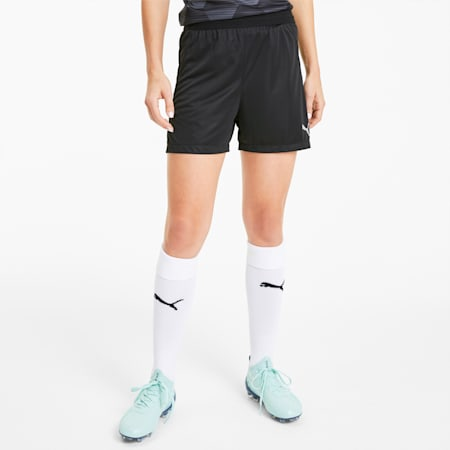 teamFINAL 21 Knitted Women's Football Shorts, Puma Black, small-IND