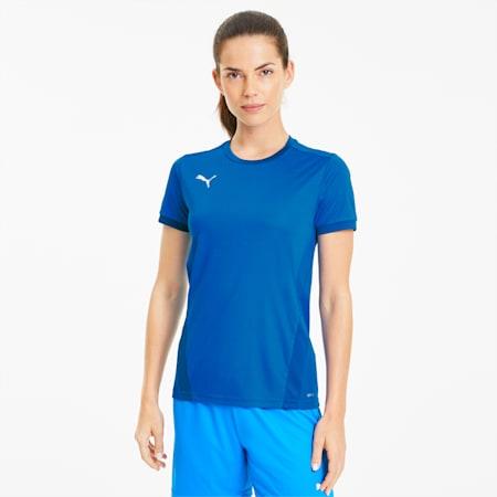 teamGOAL 23 Women's Slim Football Jersey, Electric Blue Lemonade-Team Power Blue, small-IND