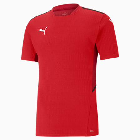 teamCUP Men's Football Relaxed Jersey, Puma Red, small-IND