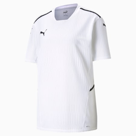 teamCUP Men's Football Relaxed Jersey, Puma White, small-IND