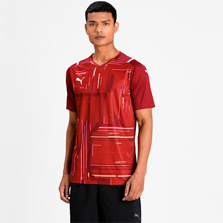 teamULTIMATE Men's Football Jersey, Cordovan, small-IND