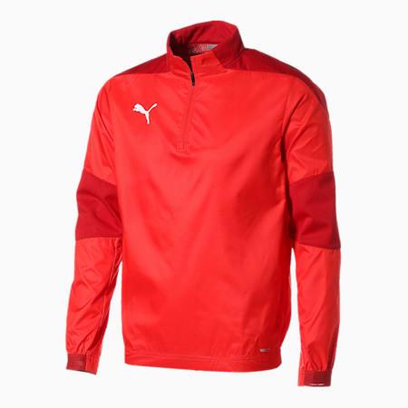 TEAMFINAL 21 サッカー トレーニング ピステ トップス, Puma Red, small-JPN