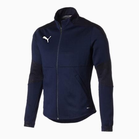 TEAMFINAL 21 サッカー トレーニング ジャケット, Peacoat, small-JPN