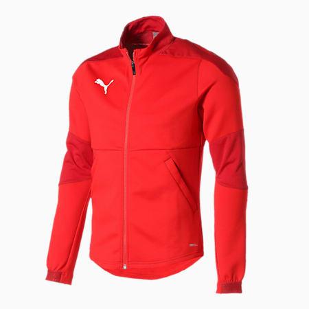 TEAMFINAL 21 サッカー トレーニング ジャケット, Puma Red, small-JPN