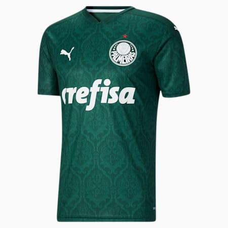 Palmeiras Men's Home Replica Jersey, Evergreen, small