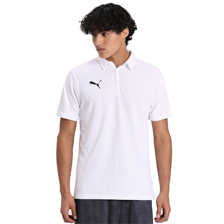 PUMA Men's Team Polo, Puma White, small-IND
