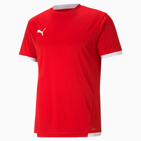 teamLIGA Herren Fußballtrikot, Puma Red-Puma White, small