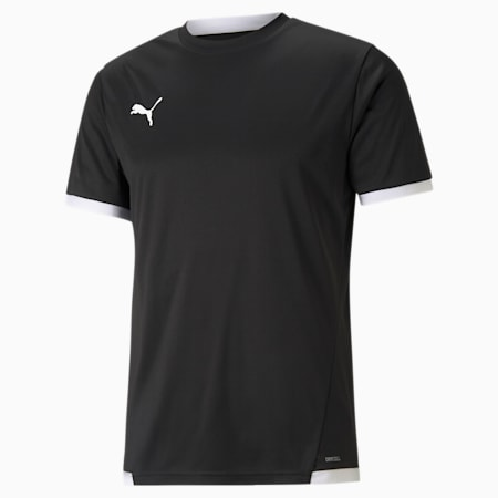 teamLIGA Men's Football Jersey, Puma Black-Puma White, small