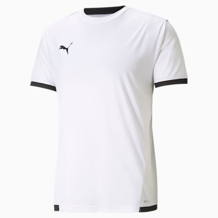 teamLIGA Men's Football Jersey, Puma White-Puma Black, small-GBR