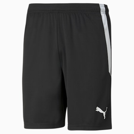 teamLIGA Men's Football Shorts, Puma Black-Puma White, small