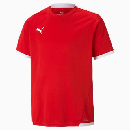 teamLIGA Youth Football Jersey, Puma Red-Puma White, small-GBR