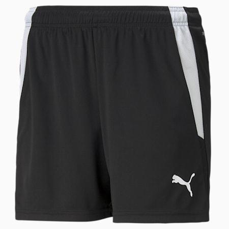 Shorts da calcio teamLIGA donna, Puma Black-Puma White, small