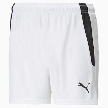 Shorts da calcio teamLIGA donna, Puma White-Puma Black, small