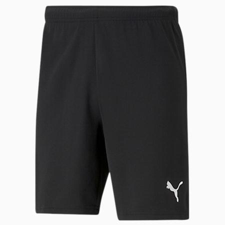 teamRISE Men's Football Shorts, Puma Black-Puma White, small-GBR