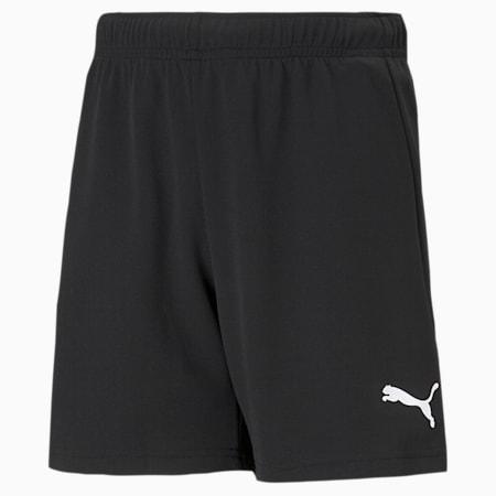 teamRISE Youth Football Shorts, Puma Black-Puma White, small-SEA