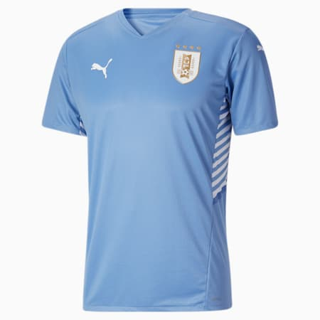 Réplica de camiseta de local de Uruguay 21 para hombre, Silver Lake Blue, pequeño
