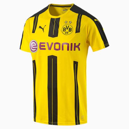 BVB Home Men's Replica Jersey, cyber yellow-black, small-SEA
