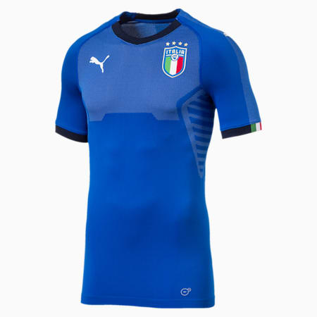 Italia Home Authentic Jersey, Team Power Blue-Peacoat, small-GBR