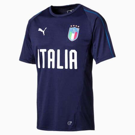 Italia Trainingstrikot, Peacoat-Team power blue, small