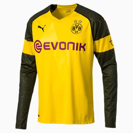 BVB LS ホーム レプリカシャツ, Cyber Yellow, small-JPN