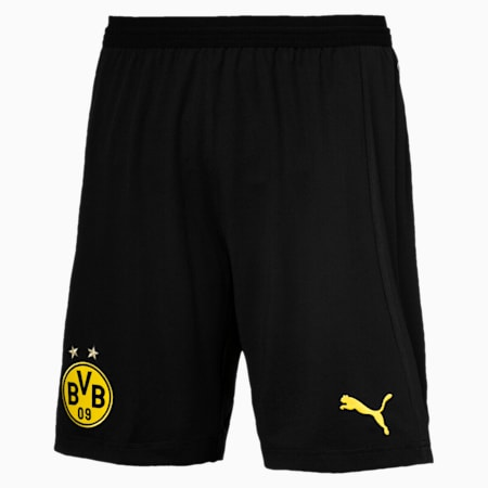 BVB Men's Away Replica Shorts, Puma Black, small-SEA