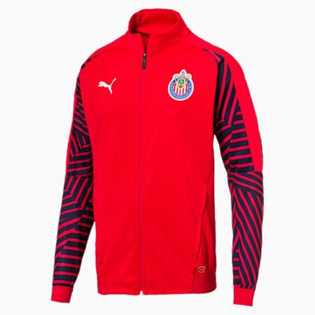 Chivas Stadium Jacket, Puma Red, small