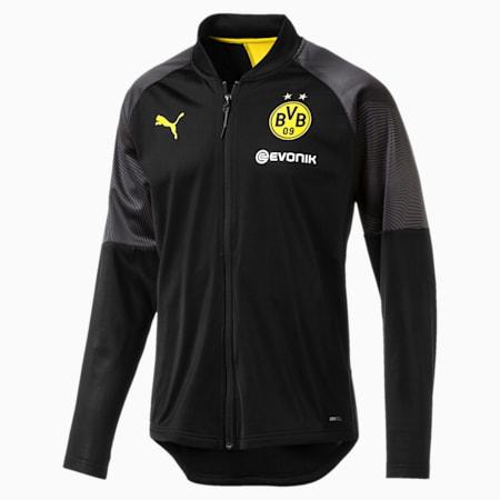 BVB Stadium Jacket, Puma Black, small-SEA