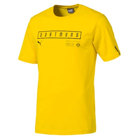 BVB Fan Men's Tee, Cyber Yellow, small-IND
