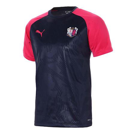 セレッソ 19 ハンソデ トレーニング シャツ, Peacoat-CR Pink, small-JPN