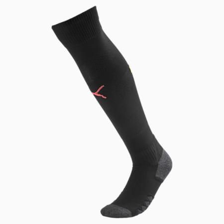 Man City Spiral Men's Socks, Puma Black-Georgia Peach, small
