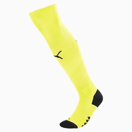 Man City Spiral Men's Socks, Fizzy Yellow-Puma Black, small