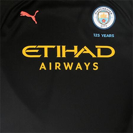 Manchester City Short Sleeve dryCELL Kids' Away Replica Jersey, Puma Black-Georgia Peach, small-IND
