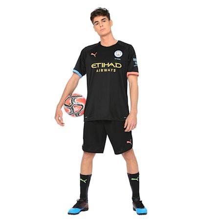 Manchester City dryCELL Men's Third Replica Shorts, Puma Black-Georgia Peach, small-IND
