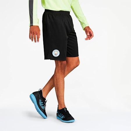 Manchester City Men's Third Replica Shorts, Puma Black-Georgia Peach, small
