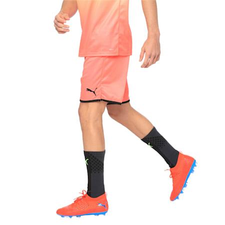 Manchester City dryCELL Men's Third Replica Shorts, Georgia Peach-Puma Black, small-IND