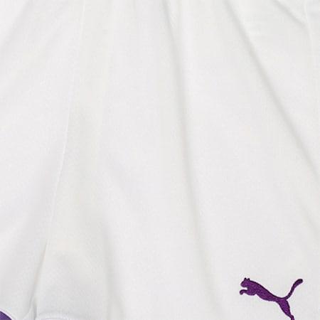Manchester City FC Kids' Third Replica Shorts, Puma White-Tillandsia Purple, small-IND