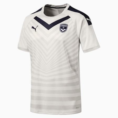 Meska replika koszulki wyjazdowej Girondins de Bordeaux, Vaporous Gray, small