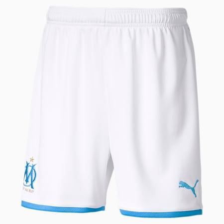 Olympique de Marseille Kids' Replica Shorts, Puma White, small