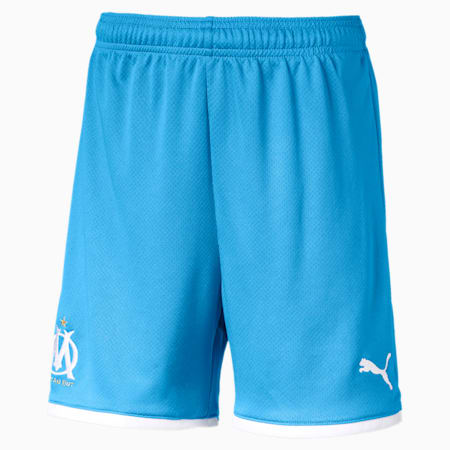 Olympique de Marseille Kids' Replica Shorts, Bleu Azur, small