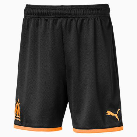 Olympique de Marseille Kids' Replica Shorts, Puma Black, small