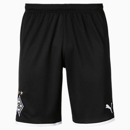 Borussia Mönchengladbach Herren Replica Shorts, Puma Black, small