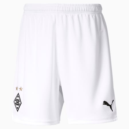 Borussia Mönchengladbach Replica Youth Shorts, Puma White, small