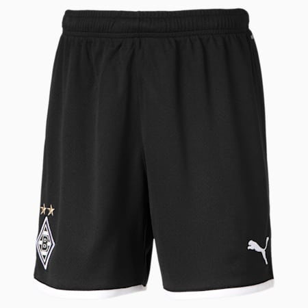 Borussia Mönchengladbach Replica Youth Shorts, Puma Black, small