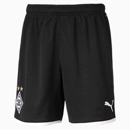 Borussia Mönchengladbach replica short voor kinderen, Puma Black, small