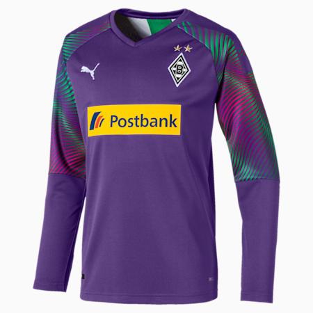 Borussia Mönchengladbach Kids' Replica Goalkeeper Jersey, Prism Violet, small