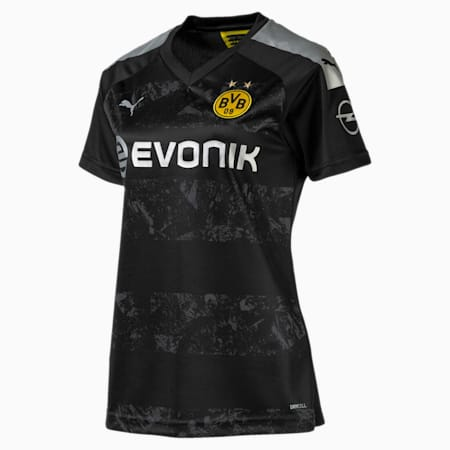 BVB Women's Away Replica Jersey, Puma Black, small