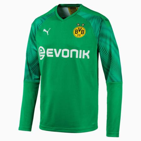 BVB Replica Long Sleeve Men's Goalkeeper Jersey, Bright Green, small